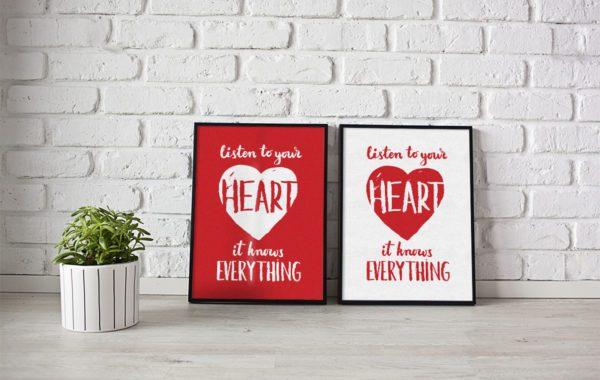 Серия сувенирных плакатов