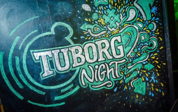 Меловой леттеринг для Tuborg