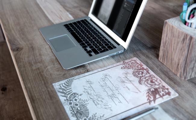 Letterhead_&_MacBook_Mockup_приглашение